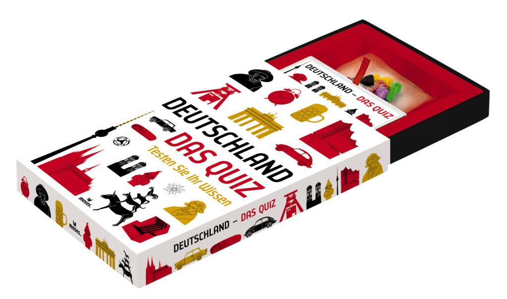 Die Box des Rätselspiels - offen.